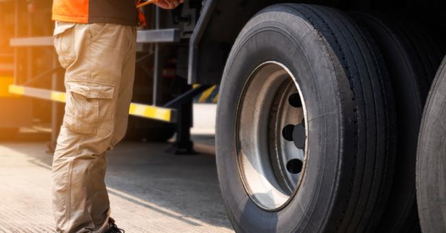Fiscalização de caminhões
